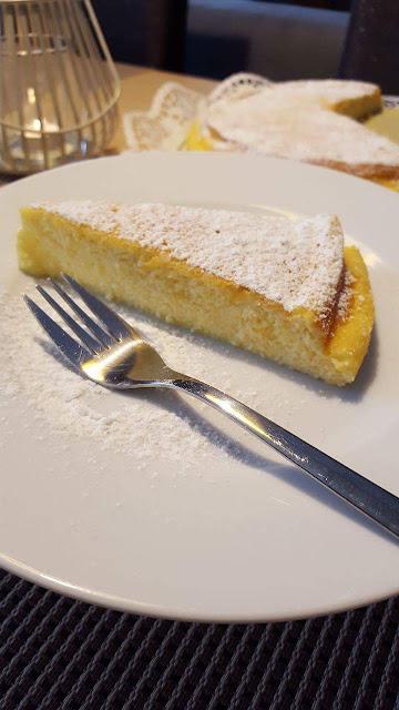 NADÝCHANÁ TVAROHOVÁ TORTA