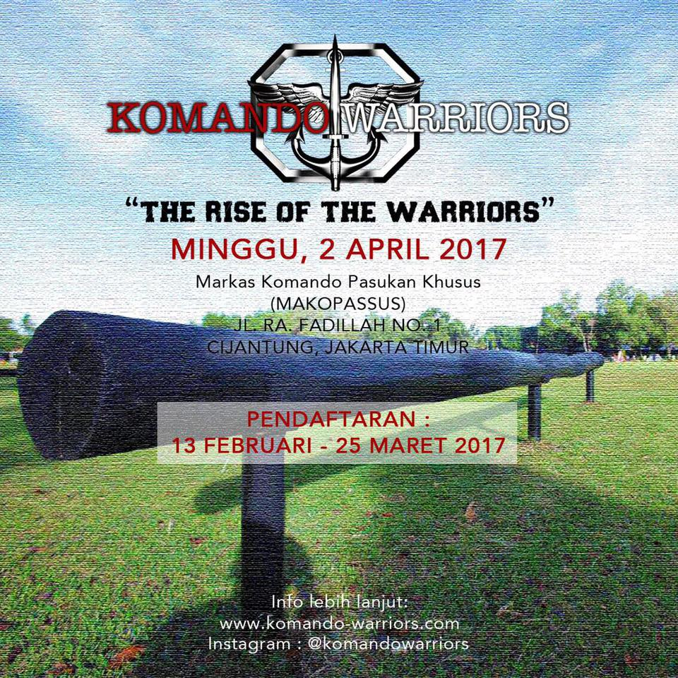 Komando Warriors • 2017