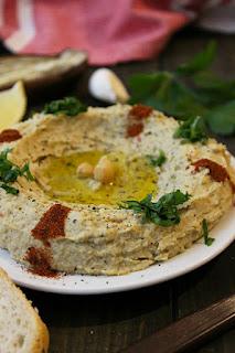 Хумус с патладжан