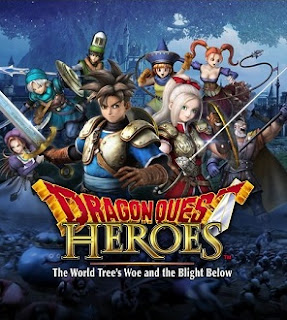 Arte gráfico de  Dragon Quest Heroes: The World Tree's Woe and the Blight Below. para PS3 y PS4