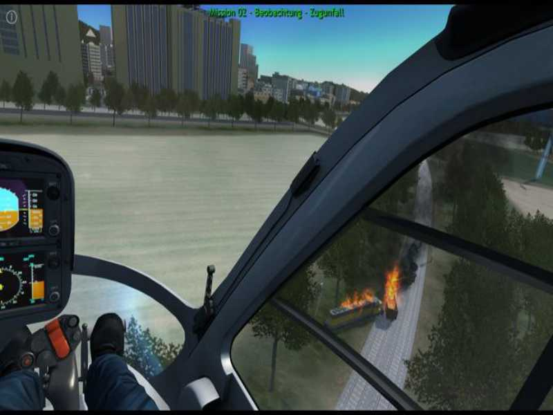 Polizeihubschrauber Simulator Highly Compressed Free Download