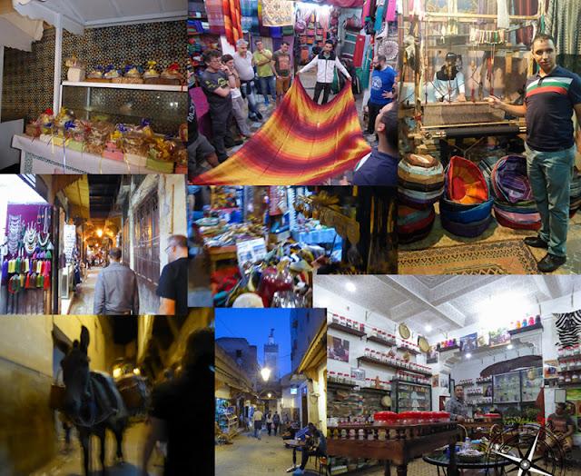 collage sobre la medina de Fez