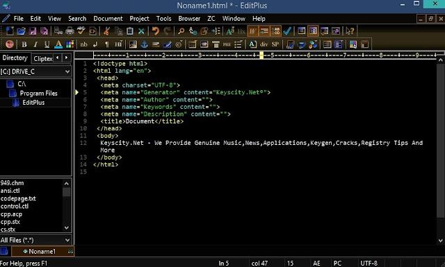 EditPlus 4.1 Download