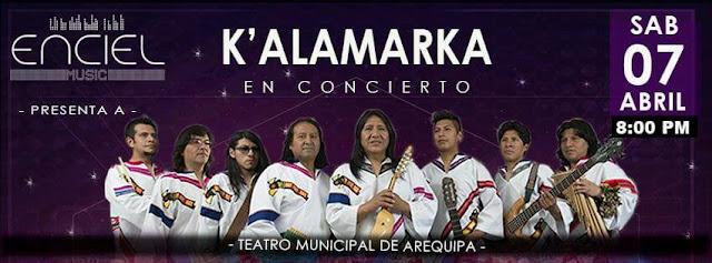 Kalamarka en Arequipa