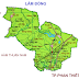 Bản đồ  Huyện Hàm Thuận Bắc, Tỉnh Bình Thuận