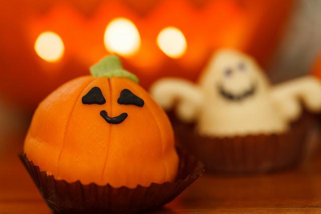 Halloween fête d'enfant gâteau décoration citrouille DIY