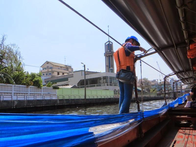 Кондуктор лодки Бангкок