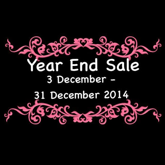 Year End Sale 2014