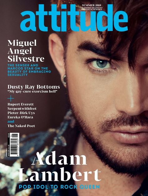 NEW! Attitude Magazine's Adam Lambert Cover Issue (July ...