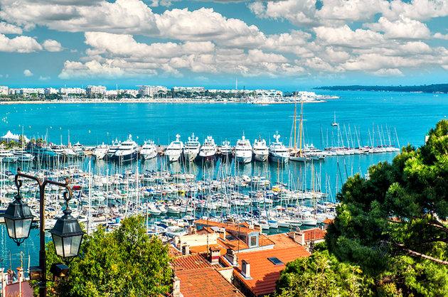 Cidade de Cannes na França