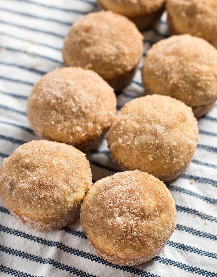 CINNAMON SUGAR DONUT MUFFINS #breakfastrecipes