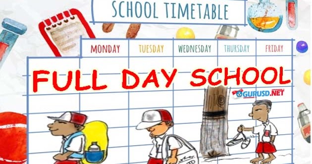 the disadvantages of full day schools Full day schooling refers to a longer day at preschool where they not only learn  but are also given time for play (lamphere, 2009) full day.