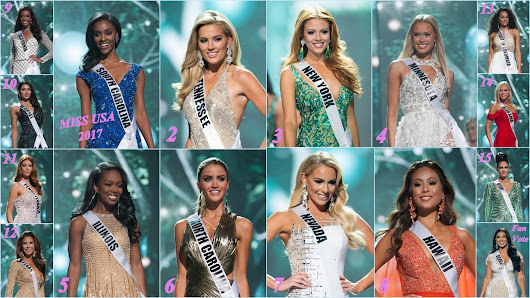 MISS USA 2017: FINAL HOT PICKS by Blog Misses do Universo
