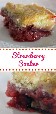 Recipe for Easy Strawberry Sonker by freshfromthe.com.
