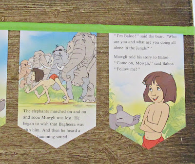 image the jungle book bunting garland rudyard kipling disney domum vindemia etsy handmade kids nursery