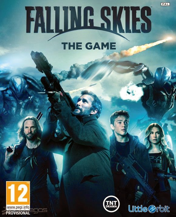 Cover Caratula Falling Skies The Game PC