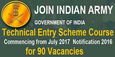 Indian Army 10+2 TES notification