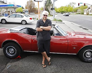 Guy Fieri and the 1967 Chevy Camaro SS convertible