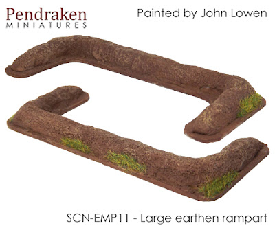 SCN-EMP11       Large earthen rampart