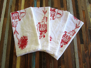 etsy oh little rabbit cloth napkins