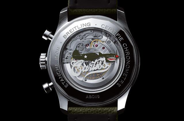 Breitling Aviator 8 B01 Chronograph 43 Curtiss Warhawk Ref. AB0119