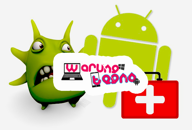 Hapus virus Android