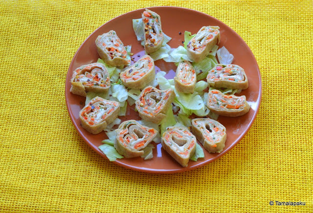 Cream Cheese Veggie Bites