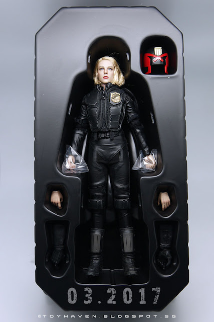 osw.zone VTS VM-013 1 / 6. Scale New epoch Cop 12 inch figure aka Olivia Thirlby Judge Anderson Review