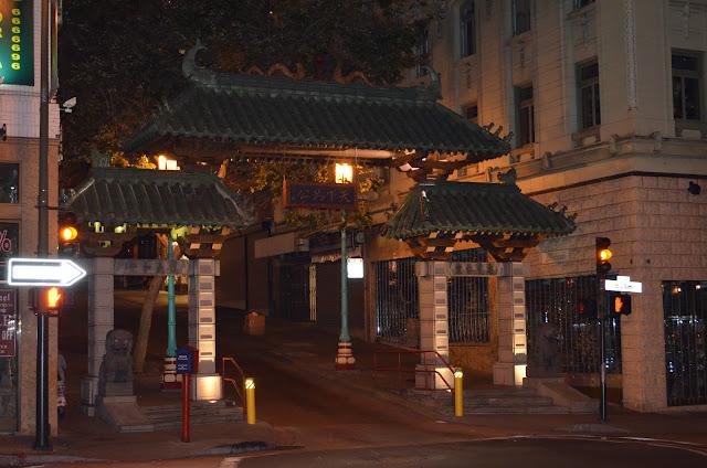 Portão de Chinatown.
