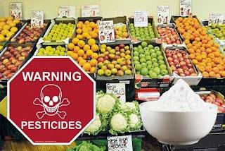 Pesticidele din fructe și legume (turcești)