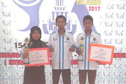 Selamat dan Sukses kepada Pemenang Gebyar TIK Jambi 2017 dari Kabupaten Tebo