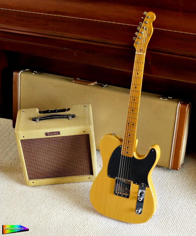 Fender Esquire in butterscotch blonde