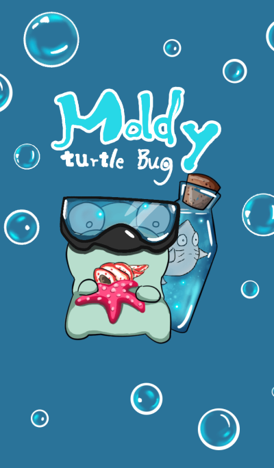 moldy turtle bug - Bottle Theme Park