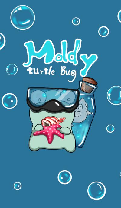 moldy turtle bug - Bottle Theme Park