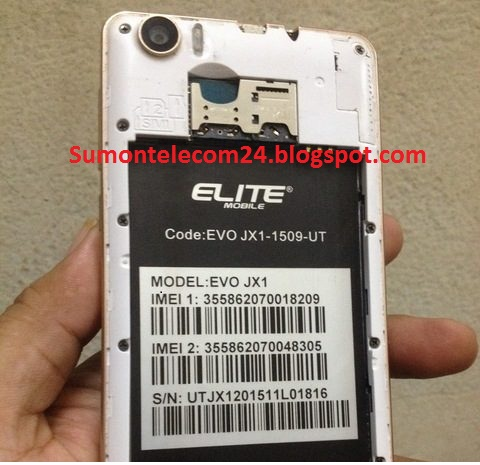Elite Evo JX1 V05 Stock Firmware ROM (Flash File) Without