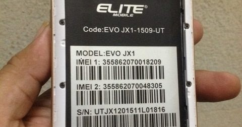Elite Evo JX1 V05 Stock Firmware ROM (Flash File) Without Password