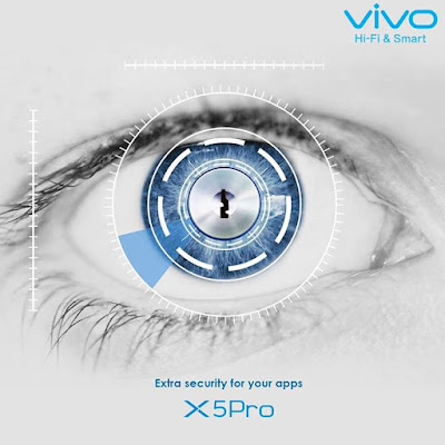 Vivo X5pro iris scanner