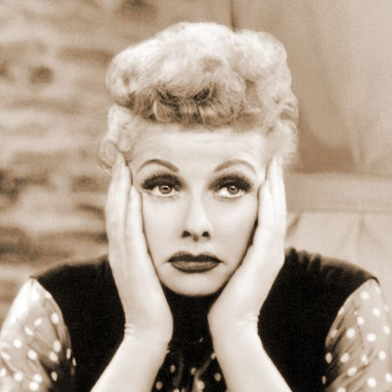 Lucille Ball feeling sad about photobucket
