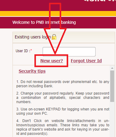 how to enable pnb netbanking online