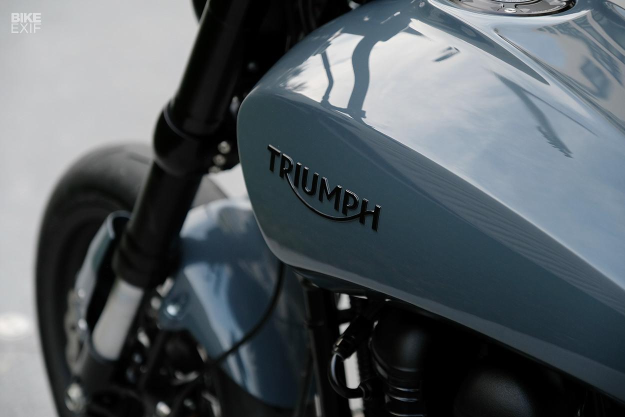 Racing Caf    Triumph Scrambler    900    by JWebster Designs