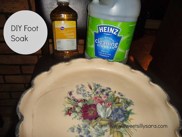 DIY Foot Soak for Sandal Ready Feet