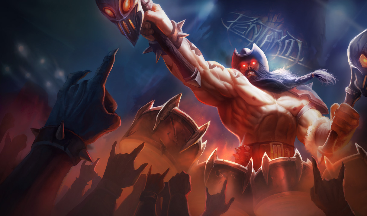 Surrender at 20: Pentakill Olaf now available!