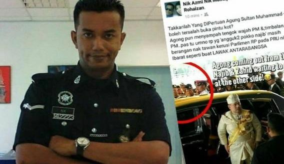 AKHIRNYA TERBONGKAR IDENTITI SEBENAR POLIS YANG BERANI MENGHINA NAJIB. Patutlah Berani Sangat HINA Najib, Rupa-Rupanya ada udang di sebalik batu !