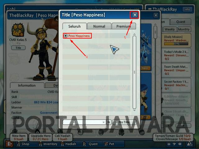 Cara Mudah Mendapatkan Title di Lost Saga