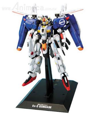 Ex-S GUNDAM MSA-0011[Ext] Master Grade (MG) 1/100 Model Kit Gundam Sentinel