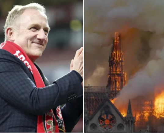 French billionaire and his family pledge millions of Euros to help rebuild Notre-Dame Cathedral
