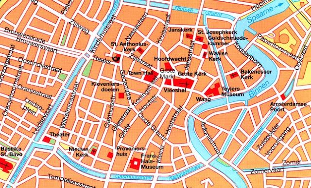 Mapa de Haarlem