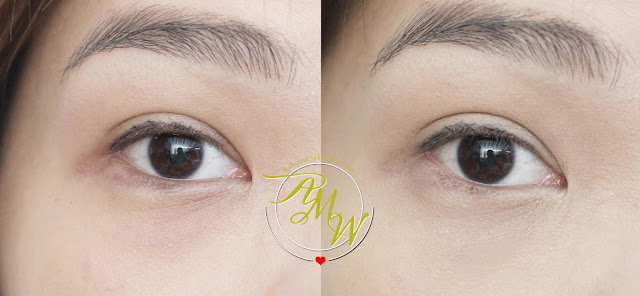 before and after photo of Pink Sugar Our Lil' Secret Concealer_askmewhats