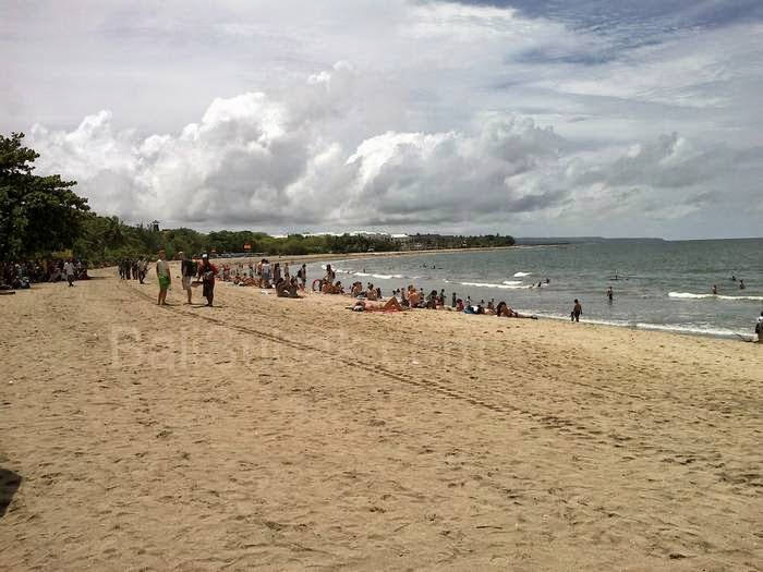 Kuta Beach Attraction in Bali