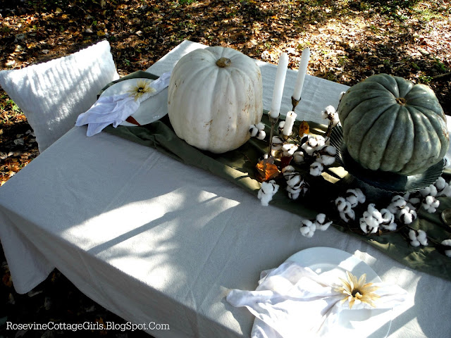 Fall, Cottage Style, Tablescape